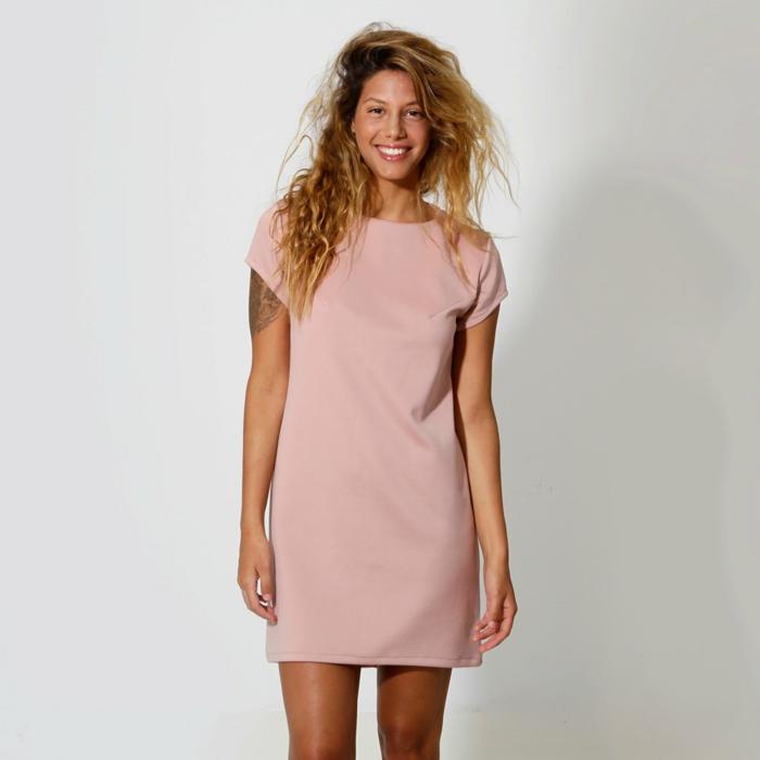 robe-rose-poudrée-quotidienne-jolie