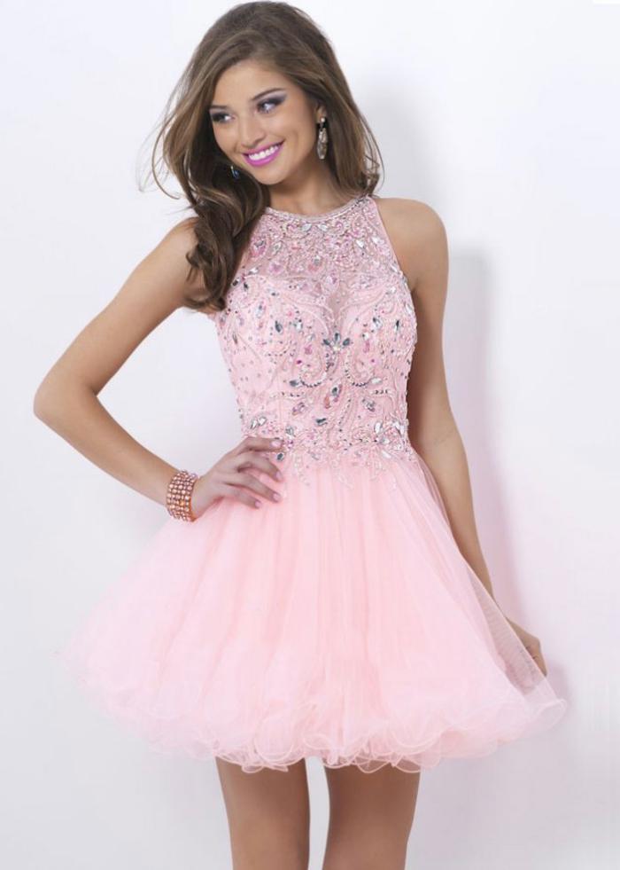 robe-rose-poudrée-tenue-de-soirée-bal-de-promo