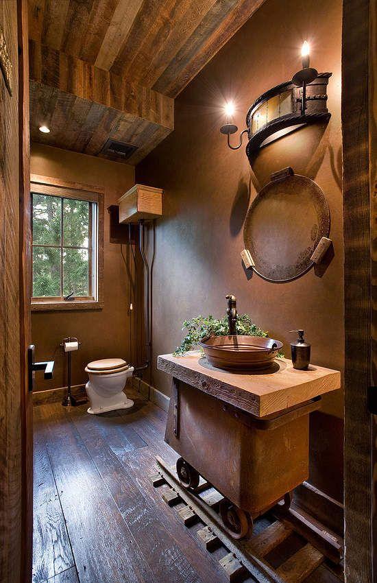 Le th me du jour est la salle de bain r tro for La salle de bain du titanic