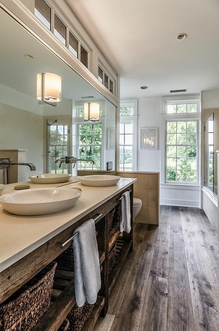 Le th me du jour est la salle de bain r tro - Salle de bain style antique ...