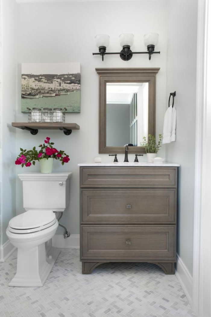 salle-de-bain-rétro-carrelage-meubles-en-bois-objet-salle-de-bain-carrelage-meuble-en-couleur-taupe