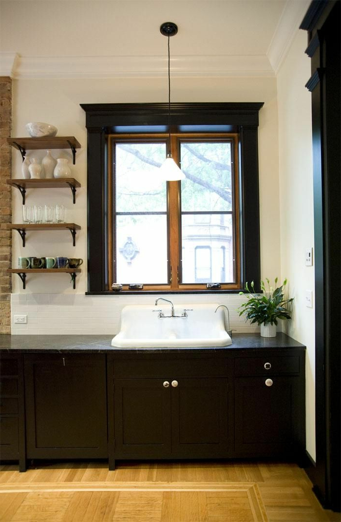 salle de bain rtro carrelage rtro plante verte - Carrelage Retro Vert