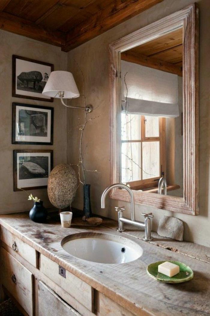 salle-de-bain-rétro-salle-de-bain-en-bois-de-style-rustique-en-bois-lavabo-en-bois