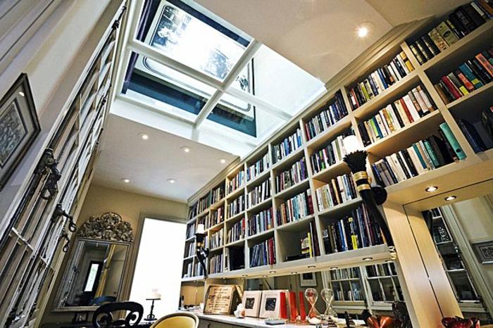 sol-de-verre-idée-bibliothèque-plafond-en-verre-idée-maison-de-luxe