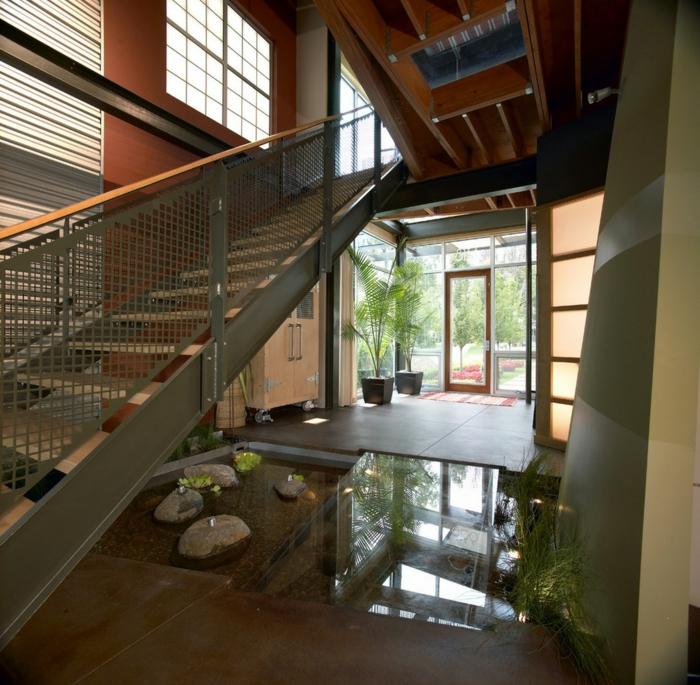 transformez votre maison avec le plancher en verre. Black Bedroom Furniture Sets. Home Design Ideas