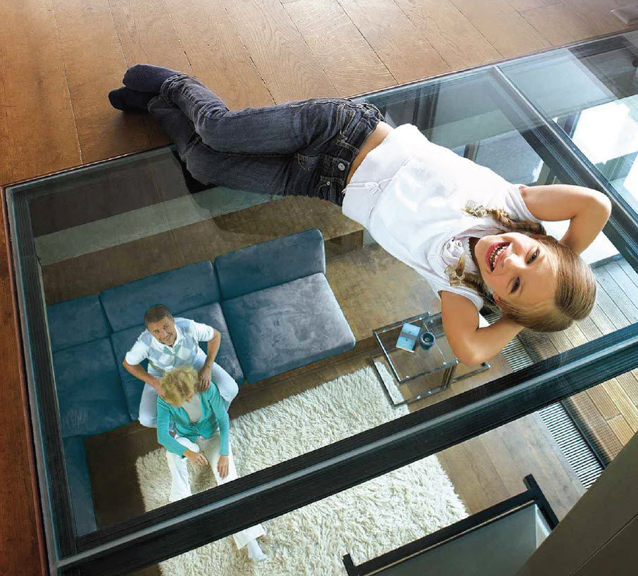 Transformez votre maison avec le plancher en verre for Pose carreau de verre exterieur