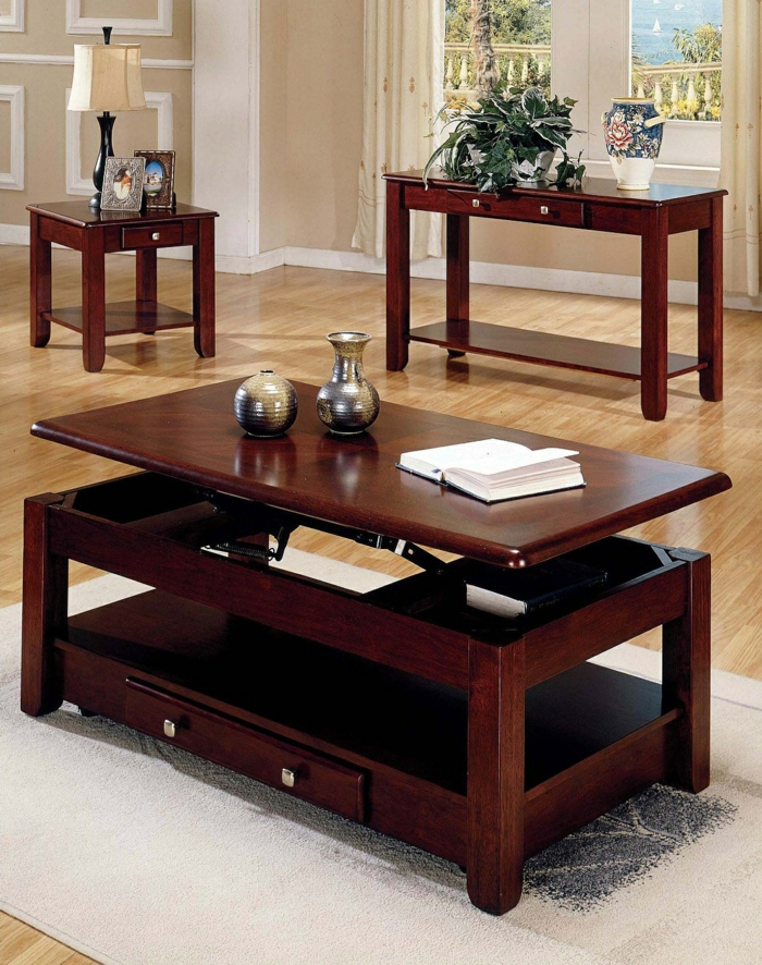 table basse convertible but. Black Bedroom Furniture Sets. Home Design Ideas