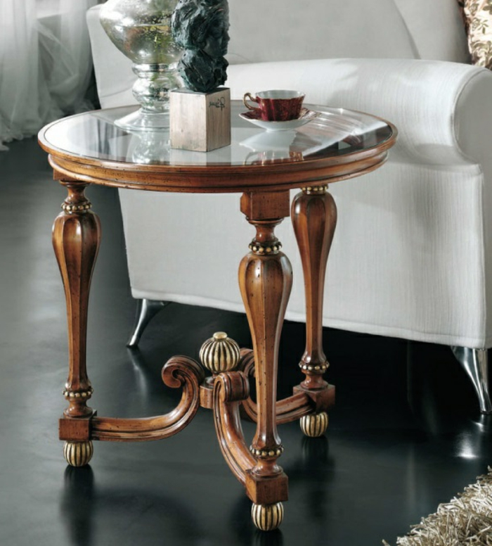 table-basse-convertible-salle-de-séjour-ronde-table-baroque-bois-et-verre