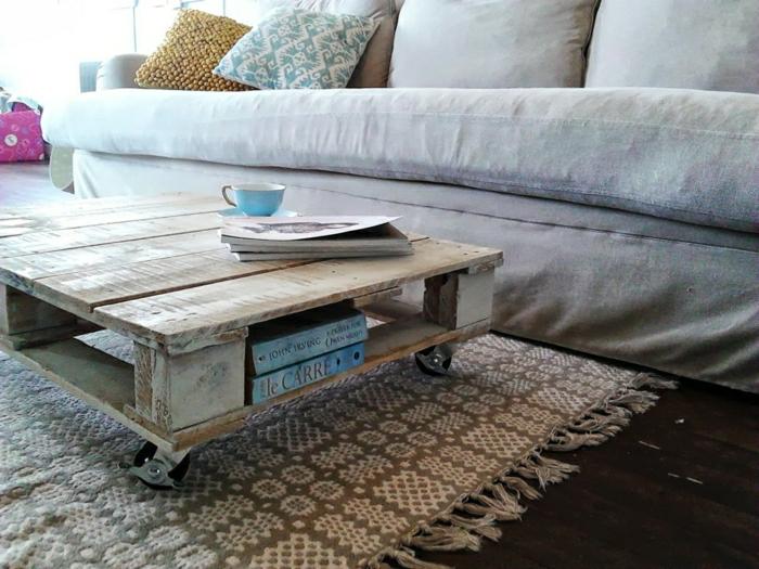 La Table Basse Palette 60 Ides Cratives Pour Fabriquer
