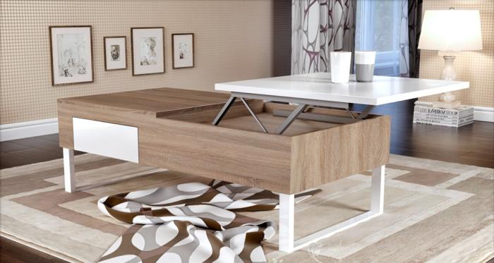 table-basse-extensible-relievable-deux-niveaux