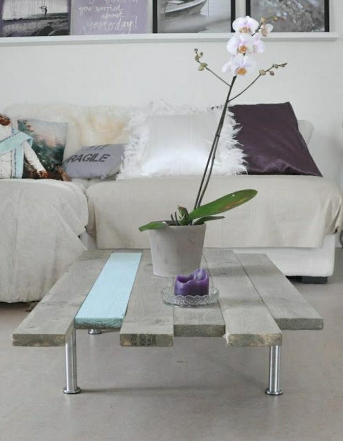 table-basse-palette-meuble-idées-orchidée