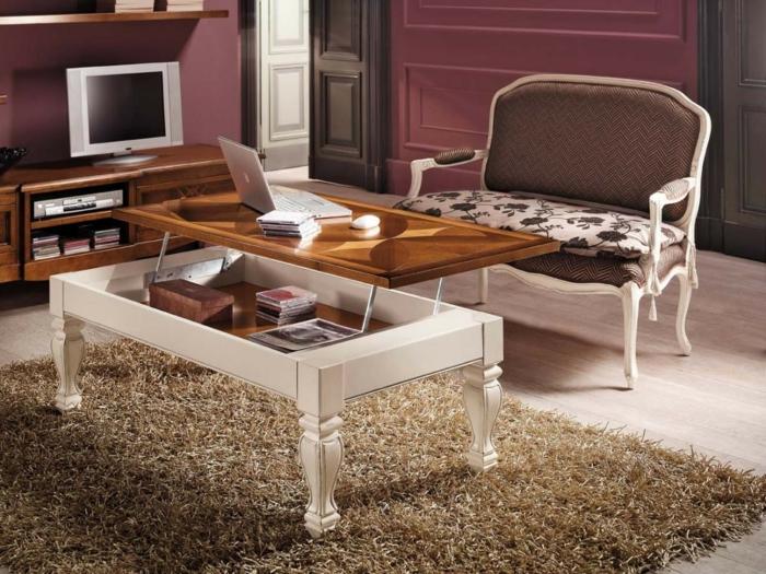 table-basse-relevable-ikea-chambre-bien-amenagee