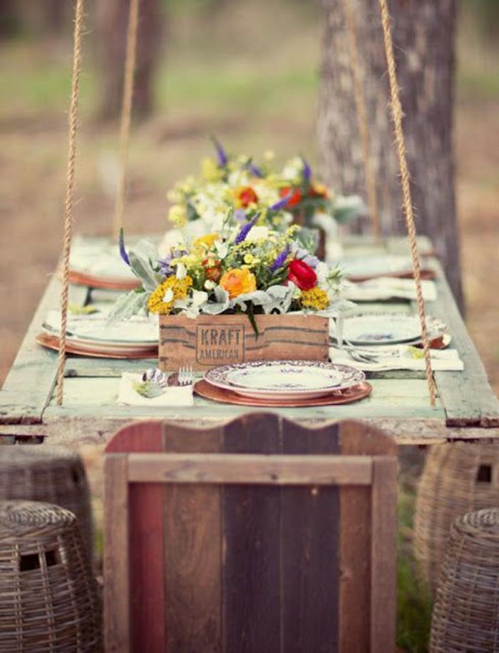 table-de-pique-nique-set-de-table-en-bois-massif-jardin-cour-table-de-jardin-bois