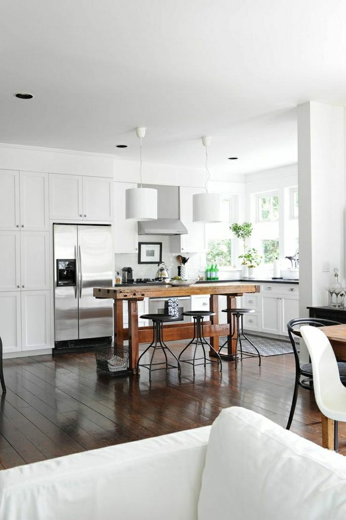 La table haute de cuisine est ce qu elle est confortable - Bar de cuisine meuble ...