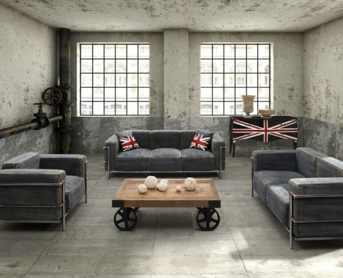 table-relevable-décoration-style-new-yorkais