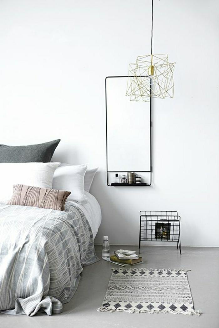 tapis-blanc-gris-coussins-blanc-gris-linge-de-lit-descente-de-lit