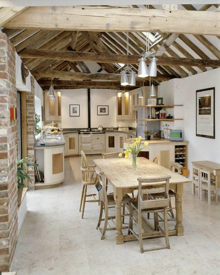 une-belle-cuisine-en-bois-massif-meubles-en-bois-meuble-en-chene ...