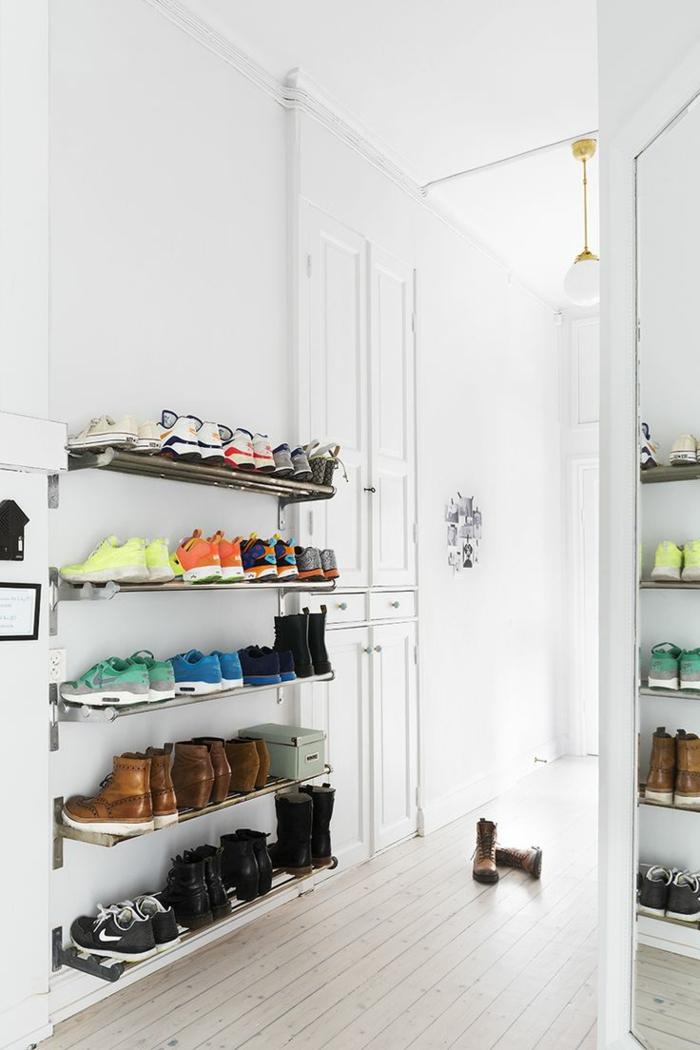 étagères-métalliques-étagère-métallique-design-porte-chaussures