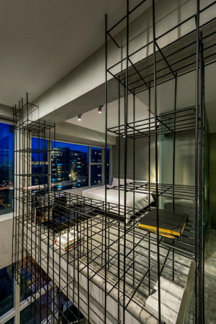 étagères-métalliques-étagère-métallique-monstrueuse-appartement-loft