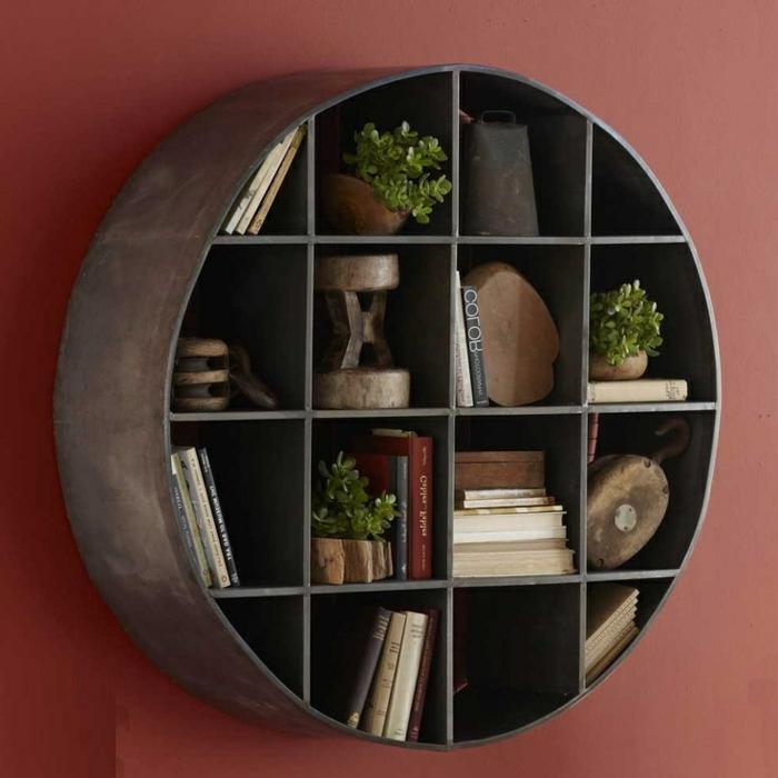 étagères-métalliques-étagère-murale-métallique-design-rond