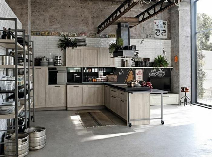 étagères-métalliques-cuisine-industrielle