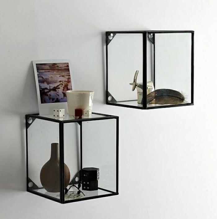 étagères-métalliques-petites-étagères-verre-et-métal