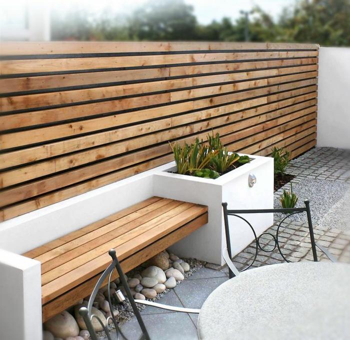 Voici nos exemples pour un banc de jardin for Bancs de jardin en bois