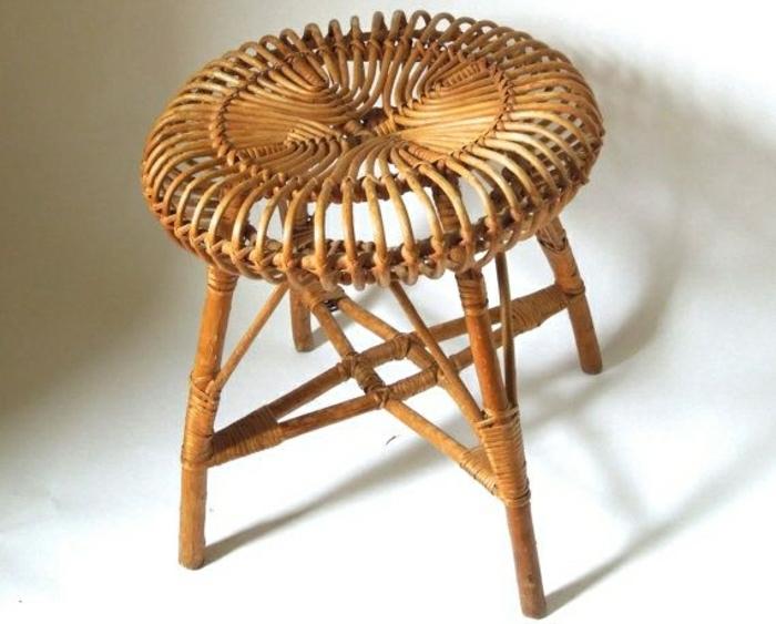 La Chaise En Osier Est Elle Convenable Pour Chaque Type Dinterieur