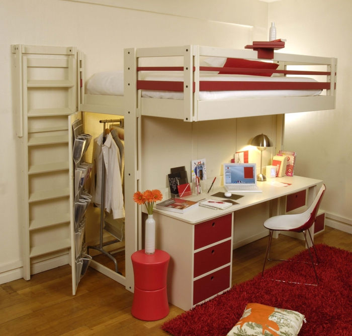Top with lit mezzanine mobile for Ikea augmenter le prix de la chambre