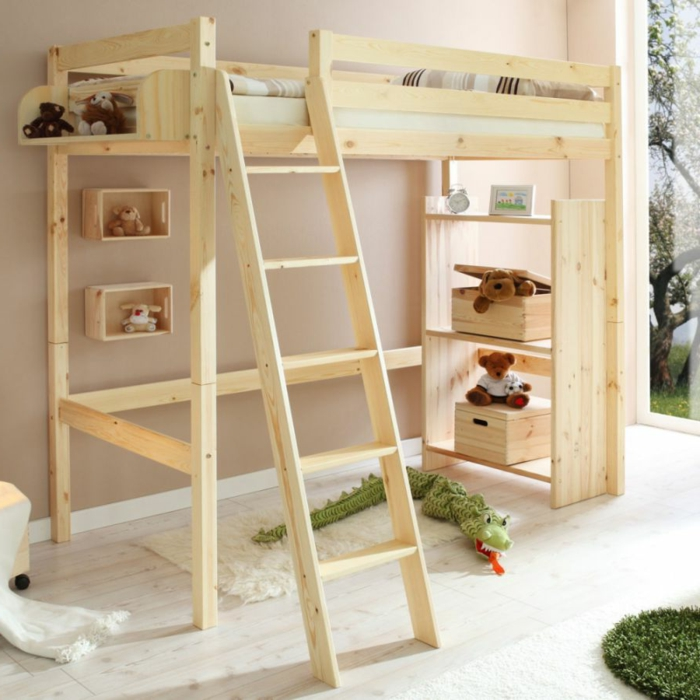 Chambre A Coucher Moderne En Bois Massif. Gallery Of Chambre Coucher ...