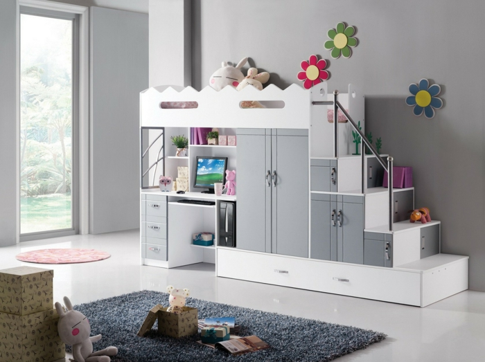 Le lit mezzanine ou le lit superspos quelle variante choisir for Ikea conception chambre
