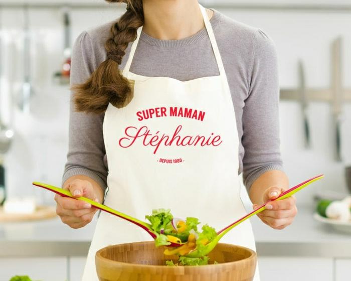 Beaucoup de variante en photos de votre tablier personnalis for Tablier de cuisine plastifie
