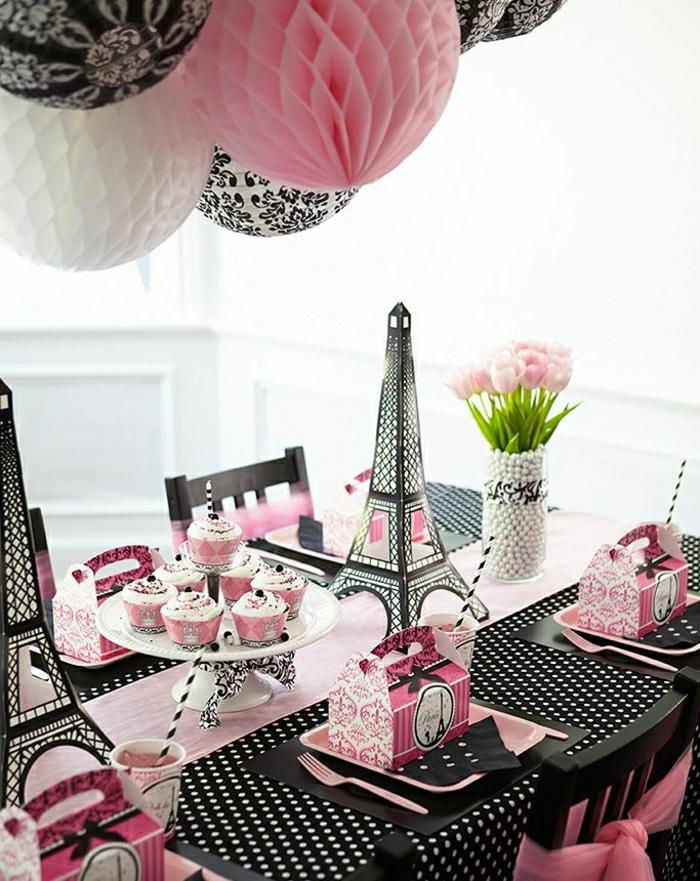 1-anniversaire-petite-fille-set-de-table-papier-nappe-rose-nappe-de-table-jetable