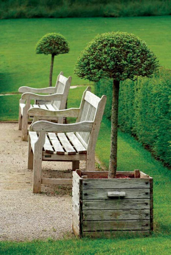 Affordable banc with maison du monde mobilier exterieur - Mobilier jardin bois saint paul ...