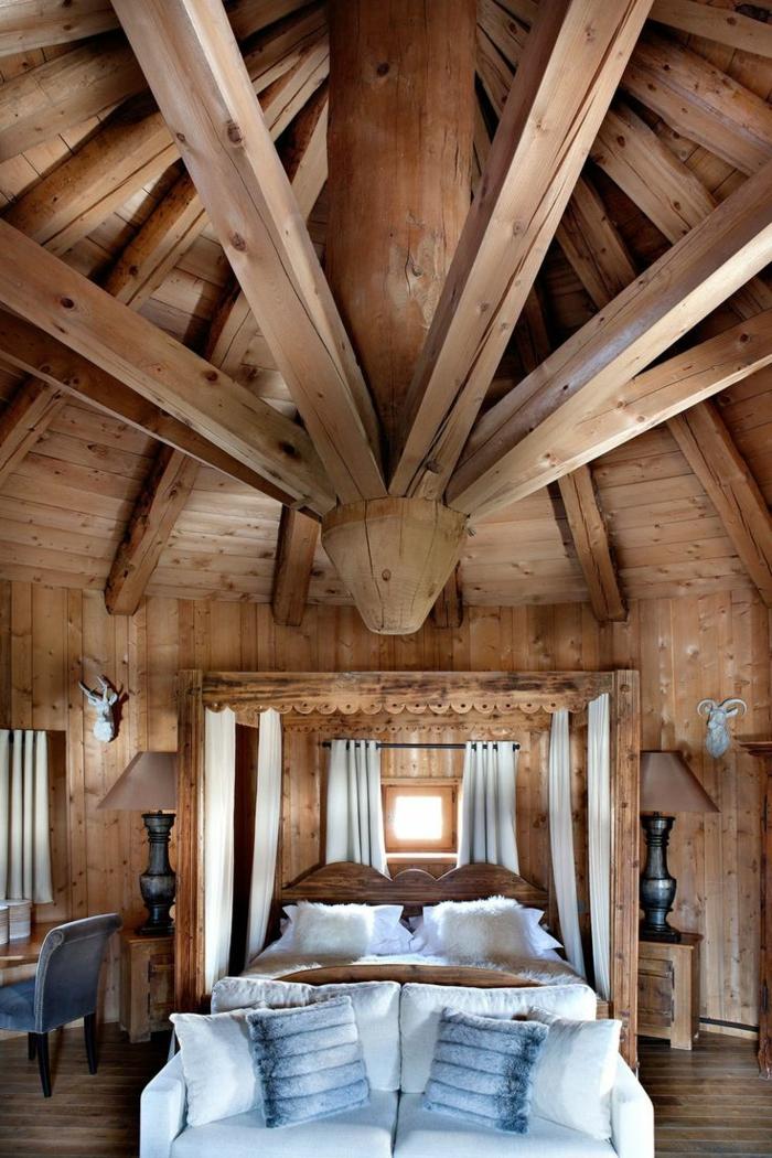 1-chalet-en-bois-habitable-chambre-à-coucher-en-bois-massif-jolie-chambre-champetre