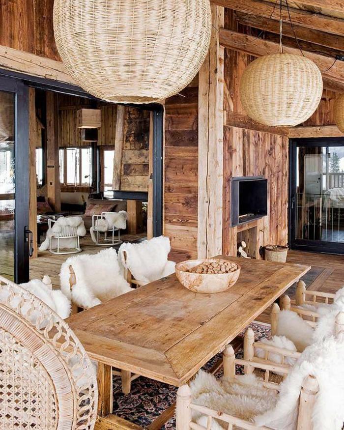 Quel type d int rieur pour votre chalet en bois habitable - Interieur chalet houten berg ...