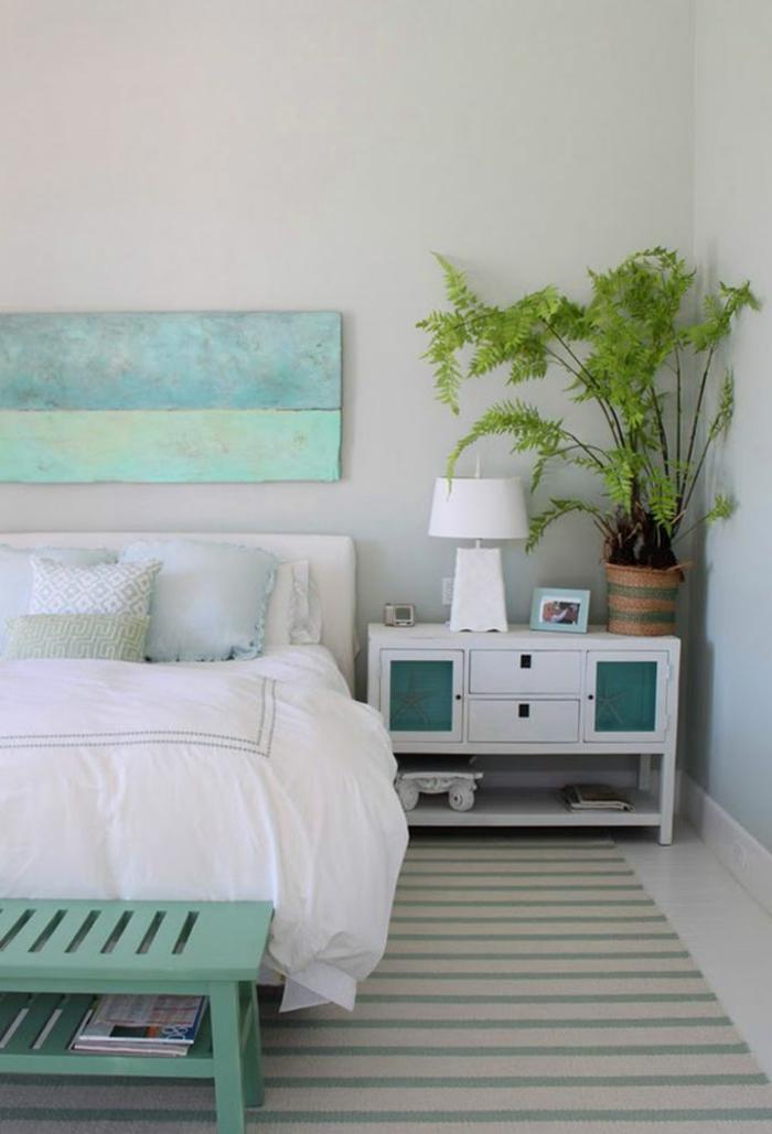 La chambre feng shui ajoutez une harmonie la maison - Plante verte chambre a coucher ...