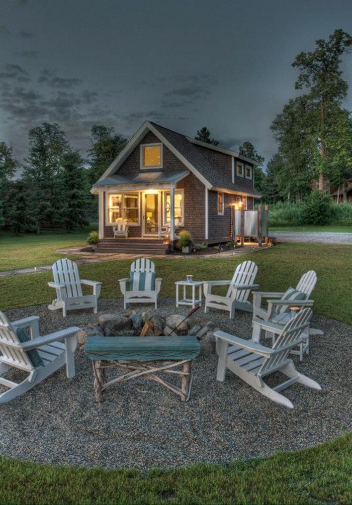 Le fauteuil en palette est le favori incontest pour la for Salon jardin palette