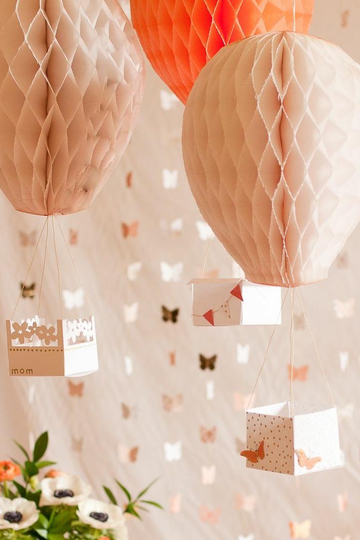 La boule chinoise est un joli et original moyen de d coration for Decoration murale papier