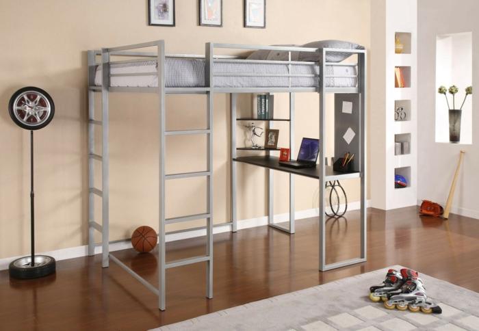 1-lit-enfant-sureleve-lit-mezzanine-fly-dans-la-chambre-d-enfant-moderne-tapis-beige-parquette-marron-foncé