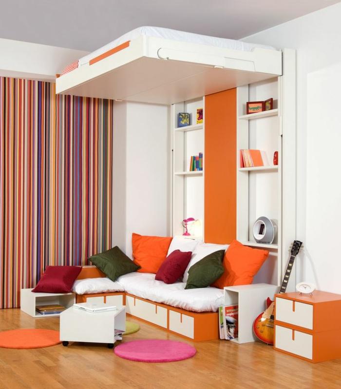 1-lit-pliant-design-bois-lit-conforama-lit-gigogne-chambre-moderne-intérieur-orange
