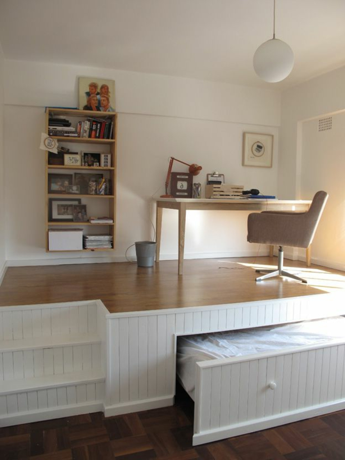 chambre petit espace best ikea chambre best of lit avec rangement petit espace chevet suspendu. Black Bedroom Furniture Sets. Home Design Ideas
