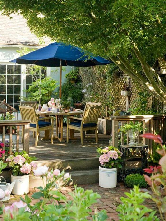 Le parasol rectangulaire en photos qui va vous inspirer - Grande table de jardin pas cher ...
