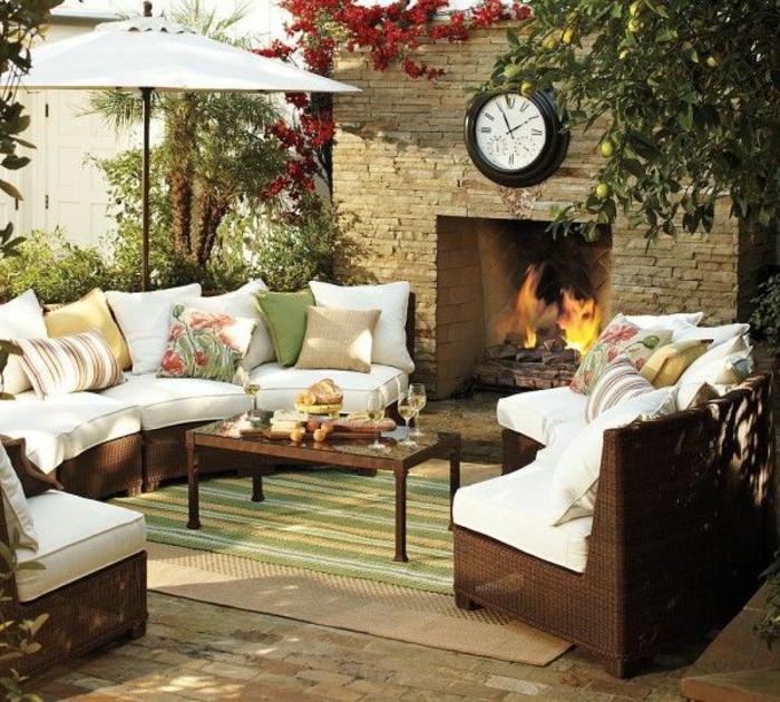 1-parasol-rectangulaire-de-couleur-blanc-meubles-de-jardin-canapé-de-jardin