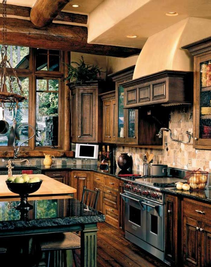 1-plan-de-travail-cuisine-casto-carrelage-cuisine-scandinave-en-bois-foncé-meubles-de-cuisine-moderne