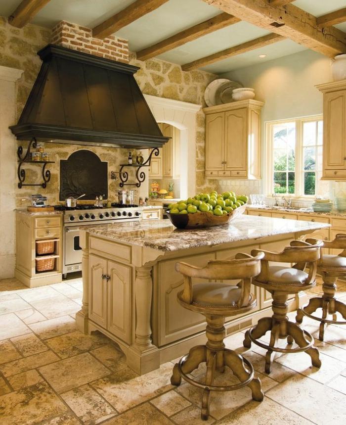 1-plan-de-travail-cuisine-casto-carrelage-dans-la-cuisine-plan-de-travail-chene-massif-meubles-de-cuisine-en-bois-massif