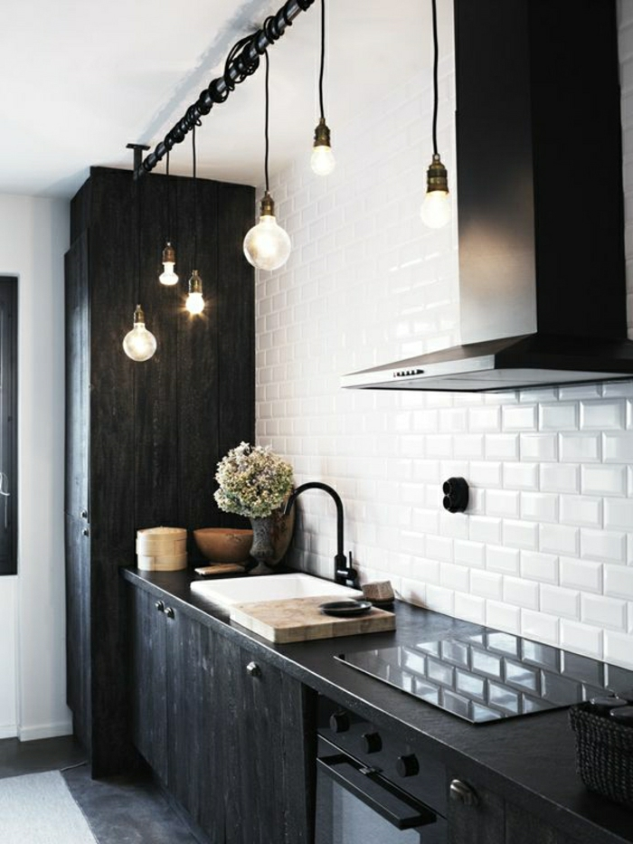 quelle couleur pour une cuisine - Cuisine Noir Quel Couleur Mur