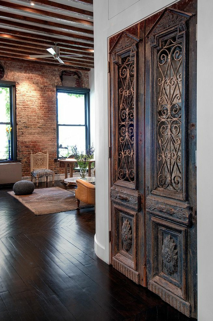 La chambre feng shui ajoutez une harmonie la maison for Porte noire salon