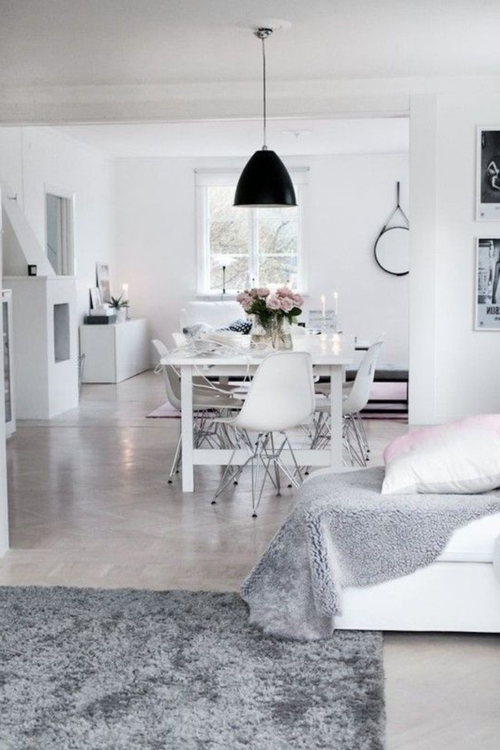 Les meubles scandinaves beaucoup d 39 id es en photos for Interieur maison moderne blanc