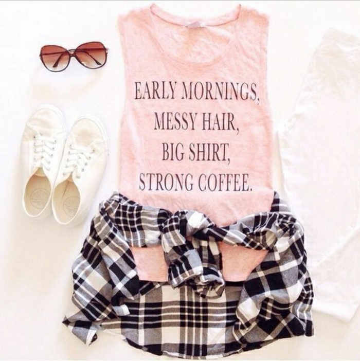 1-t-shirt-personnalisé-de-couleur-rose-vetement-femme-mode-tendance-2015